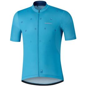 Shimano Aerolite Maglietta Uomo, blu